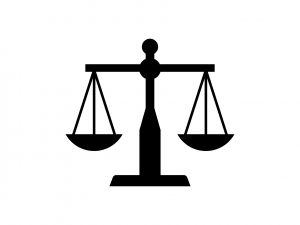 Legal advocacy icon